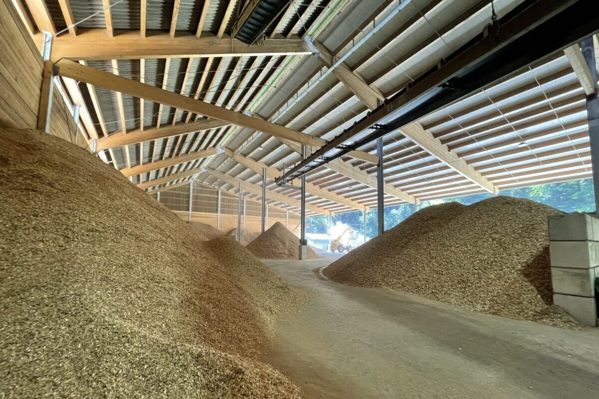 Gasel, Holzvergaseranlage Lignocalor AG